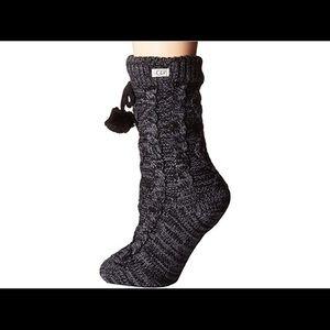 Ugg fleece lined crew sock
